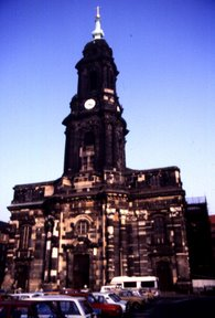 "Kreuzkirche Dresden, 1988 - Copyright: ""Matthias"""