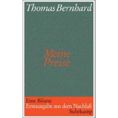 Thomas Bernhard: Meine Preise