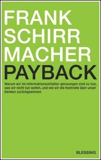 Frank Schirrmacher: Payback