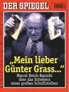 Reich-Ranicki v/zerreißt Günter Grass