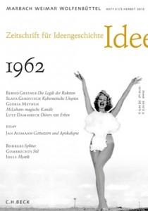 Zeitschrift für Ideengeschichte - Heft VI/3 Herbst 2012