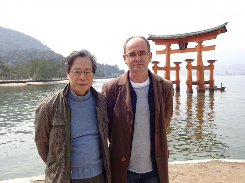 Masahiko Tsuchiya und Leopold Federmair - © Leopold Federmair
