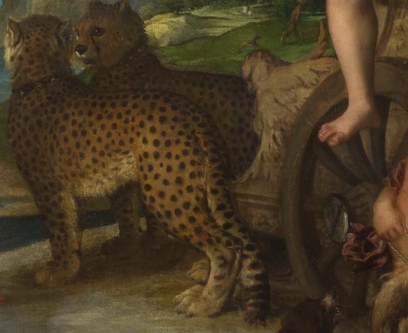 Tizian: Bacchus und Ariadne - Ausschnitt (via Wikipedia Commons)