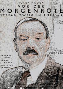 """Filmplakat """"Vor der Morgenröte - Stefan Zweig in Amerika"""" (X-Verleih)"""