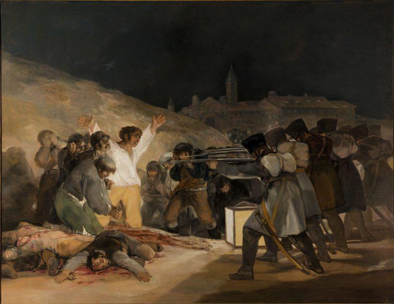 "Francisco de Goya: ""Die Erschießung der Aufständischen"" - Francisco De Goya de España [Public domain], via Wikimedia Commons (Quelle)"