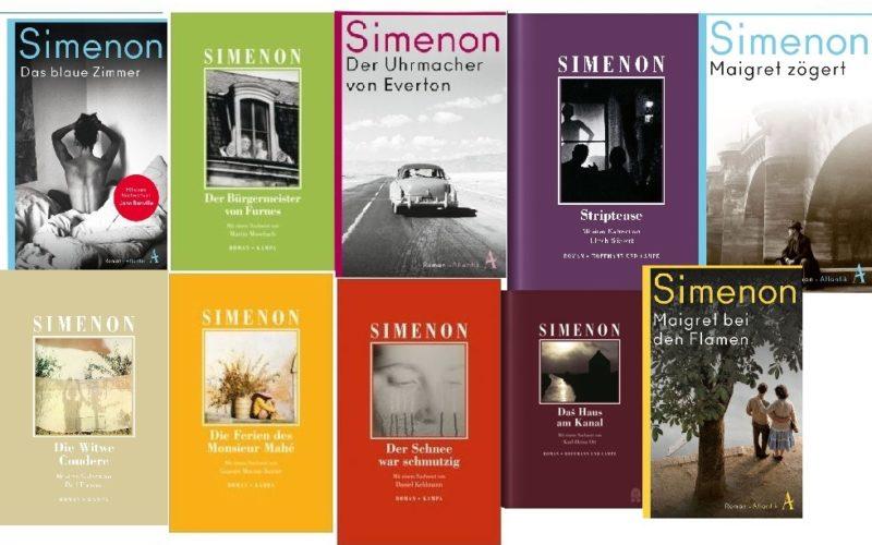 Cover von Simenon Romanen