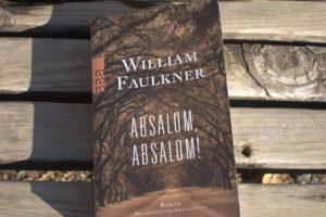 Faulkner-Lektüre Jänner 2019 (zu Absalom Absalom) © Leopold Federmair