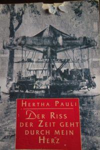 Der Sittich der spanischen Übersetzerin dieeses Buchs hat hier seine Spuren hinterlassen © Leopold Federmair