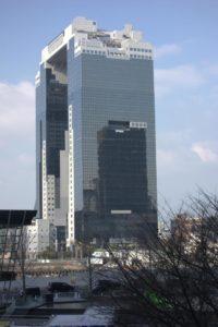 Sky-Building, welches das beste Kino von Osaka beherbergt © Leopold Federmair
