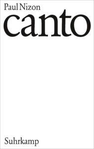 Paul Nizon: Canto